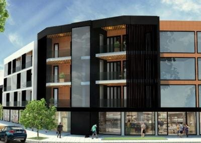 Mixed-Use Apartment and Townhouses, 2 Domain Road
