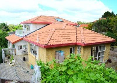 Re-cladding of house, Mulgan Way