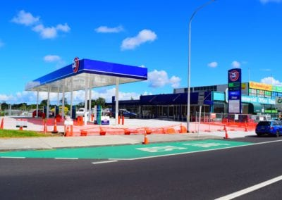 Gas station retail development, Great South Road