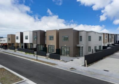 Large scale residential development, 133 Clark Road, Hobsonville.