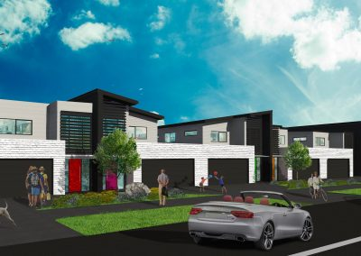 Proposed Terraced houses, 2 Domain Road