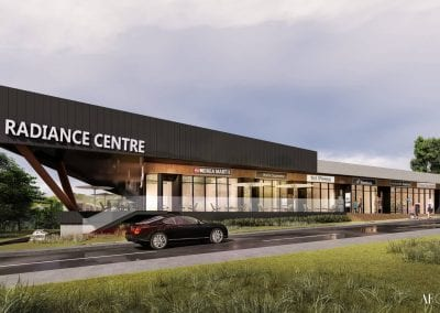 Radiance Centre, Commercial Development